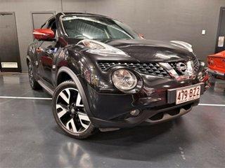 2016 Nissan Juke F15 Series 2 Ti-S X-tronic AWD N-SPORT Metallic Black 1 Speed Constant Variable.