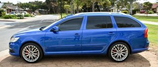 2010 Skoda Octavia 1Z MY10 RS Blue 6 Speed Manual Wagon