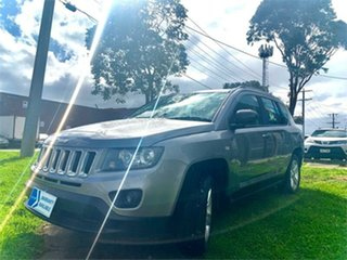 2016 Jeep Compass MK MY16 Sport (4x2) Silver Continuous Variable Wagon.