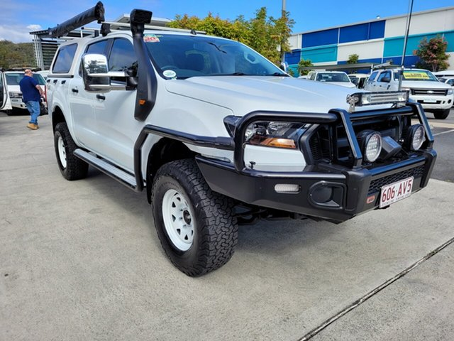 Used Ford Ranger PX MkII XL Robina, 2016 Ford Ranger PX MkII XL White 6 speed Manual Utility