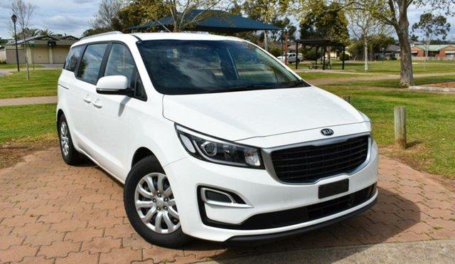 Used Kia Carnival YP MY18 S Ingle Farm, 2018 Kia Carnival YP MY18 S White 6 Speed Sports Automatic Wagon