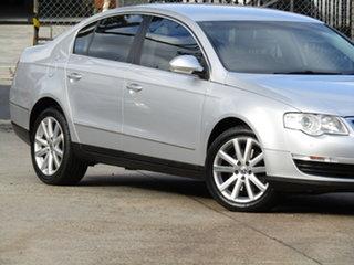 2009 Volkswagen Passat Type 3C MY09 147TSI Adventurine Silver 6 Speed Sports Automatic Sedan.