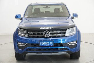 2019 Volkswagen Amarok 2H MY19 TDI580 4MOTION Perm Ultimate Blue 8 Speed Automatic Utility.