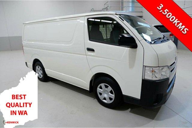 Used Toyota HiAce TRH201R LWB Kenwick, 2018 Toyota HiAce TRH201R LWB White 6 Speed Automatic Van