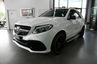 2015 Mercedes-Benz GLE-Class W166 GLE63 AMG SPEEDSHIFT PLUS 4MATIC S White 7 Speed