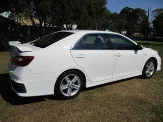 2012 Toyota Aurion GSV50R Sportivo SX6 White 6 Speed Sports Automatic Sedan.