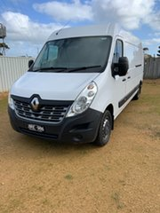 2018 Renault Master X62 Mid Roof LWB AMT White 6 Speed Sports Automatic Single Clutch Van.