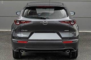 2021 Mazda CX-30 DM2W7A G20 SKYACTIV-Drive Pure Grey 6 Speed Sports Automatic Wagon.