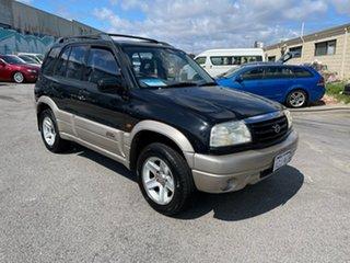 2001 Suzuki Grand Vitara Sports (4x4) Black 4 Speed Automatic Wagon.