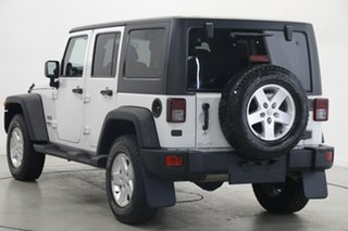 2013 Jeep Wrangler JK MY2014 Unlimited Sport White 6 Speed Manual Softtop.