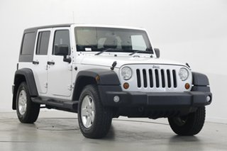 2013 Jeep Wrangler JK MY2014 Unlimited Sport White 6 Speed Manual Softtop