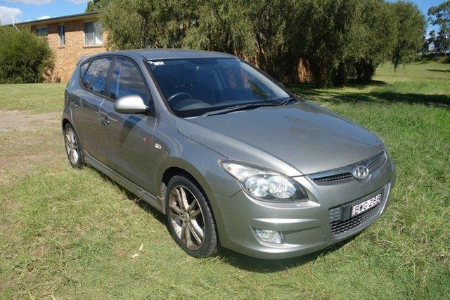 Used Hyundai i30 FD MY11 SR East Maitland, 2011 Hyundai i30 FD MY11 SR Silver 4 Speed Automatic Hatchback