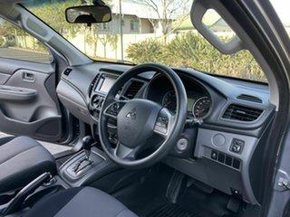 2016 Mitsubishi Triton MQ GLX+ Grey 5 Speed Automatic Dual Cab.