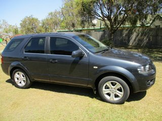 2010 Ford Territory SY MkII TS Grey 4 Speed Sports Automatic Wagon