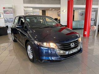 2010 Honda Odyssey 4th Gen MY10 Luxury Blue 5 Speed Sports Automatic Wagon