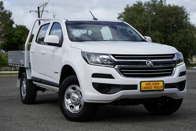 Used Holden Colorado RG MY18 LS Crew Cab 4x2 Enfield, 2017 Holden Colorado RG MY18 LS Crew Cab 4x2 White 6 Speed Sports Automatic Cab Chassis