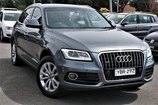 2015 Audi Q5 8R MY15 TDI S Tronic Quattro Grey 7 Speed Sports Automatic Dual Clutch Wagon.