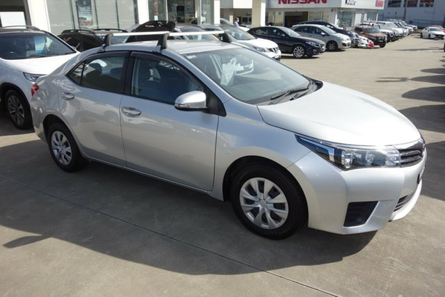 Used Toyota Corolla ZRE172R Ascent S-CVT East Maitland, 2016 Toyota Corolla ZRE172R Ascent S-CVT Silver 7 Speed Constant Variable Sedan