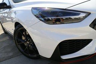 2021 Hyundai i30 Pde.v4 MY22 N D-CT Polar White 8 Speed Sports Automatic Dual Clutch Hatchback.
