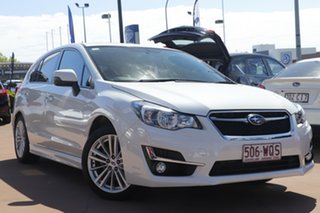 2016 Subaru Impreza G4 MY16 2.0i-S Lineartronic AWD White 6 Speed Constant Variable Hatchback.
