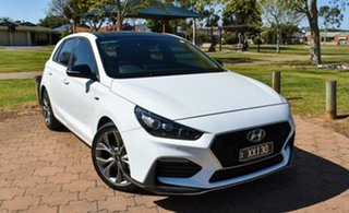 2020 Hyundai i30 PD.3 MY20 N Line D-CT Premium White 7 Speed Sports Automatic Dual Clutch Hatchback.