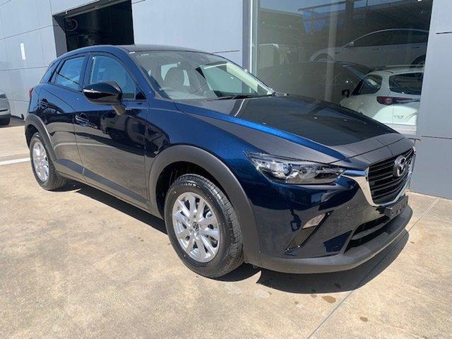 New Mazda CX-3 DK2W7A Maxx SKYACTIV-Drive FWD Sport LE Alexandria, 2021 Mazda CX-3 DK2W7A Maxx SKYACTIV-Drive FWD Sport LE Deep Crystal Blue 6 Speed Sports Automatic