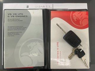 2011 Holden Ute VE II SV6 Thunder Blue 6 Speed Sports Automatic Utility.