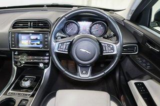 2015 Jaguar XE X760 MY16 R-Sport Green 8 Speed Sports Automatic Sedan