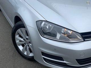 2014 Volkswagen Golf VII MY14 90TSI DSG Comfortline Silver, Chrome 7 Speed.