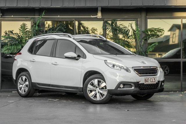 Used Peugeot 2008 A94 Active Bowen Hills, 2016 Peugeot 2008 A94 Active White 4 Speed Sports Automatic Wagon
