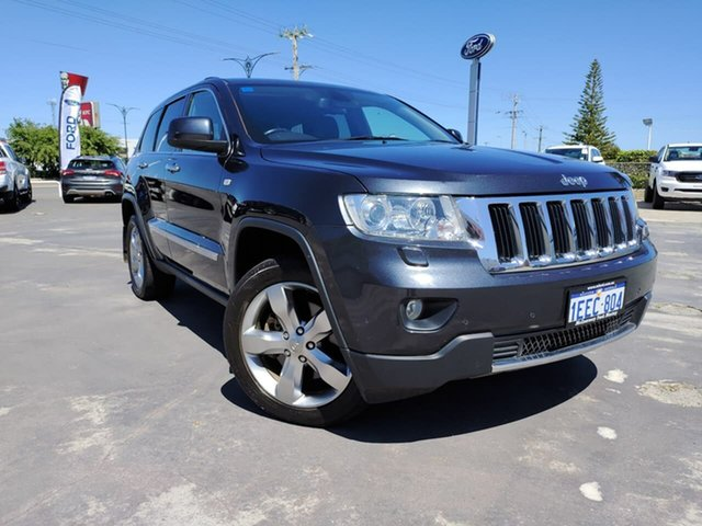 Used Jeep Grand Cherokee WK MY2013 Limited Morley, 2013 Jeep Grand Cherokee WK MY2013 Limited Blue 5 Speed Sports Automatic Wagon