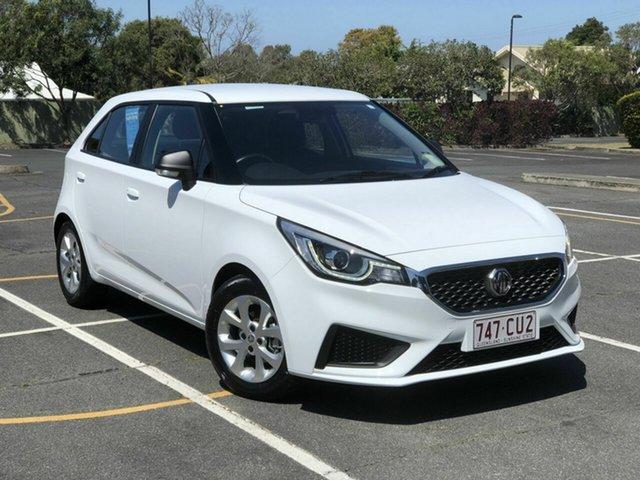 Used MG MG3 SZP1 MY20 Core Chermside, 2020 MG MG3 SZP1 MY20 Core White 4 Speed Automatic Hatchback