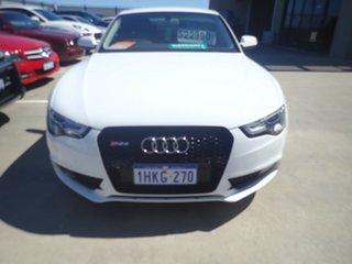 2012 Audi A5 8T MY13 2.0 TFSI Quattro Polar White 7 Speed Auto Direct Shift Coupe.