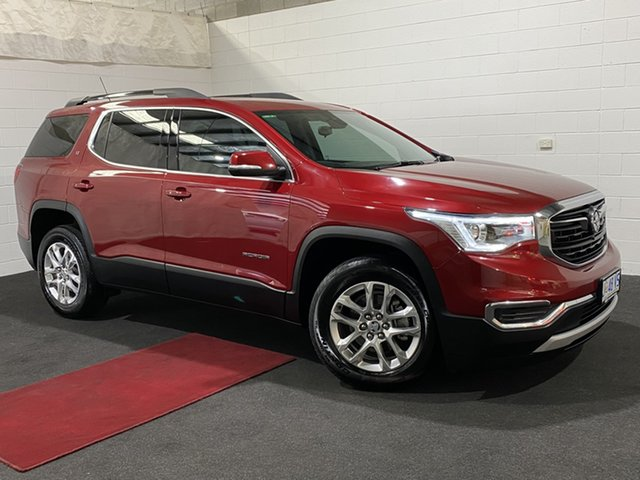 Used Holden Acadia AC MY19 LT 2WD Glenorchy, 2019 Holden Acadia AC MY19 LT 2WD Red 9 Speed Sports Automatic Wagon