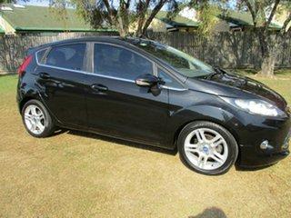 2011 Ford Fiesta WS Zetec Black 4 Speed Automatic Hatchback