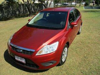 2009 Ford Focus LT CL Orange 5 Speed Manual Hatchback