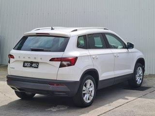 2021 Skoda Karoq NU MY21 110TSI FWD White 8 Speed Automatic Wagon.
