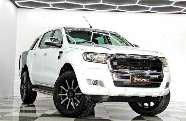 Used Ford Ranger PX MkII MY18 XLT 3.2 (4x4) Burleigh Heads, 2017 Ford Ranger PX MkII MY18 XLT 3.2 (4x4) White 6 Speed Automatic Double Cab Pick Up