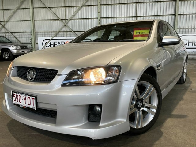 Used Holden Commodore VE MY09.5 SV6 Rocklea, 2009 Holden Commodore VE MY09.5 SV6 Silver 6 Speed Manual Sedan