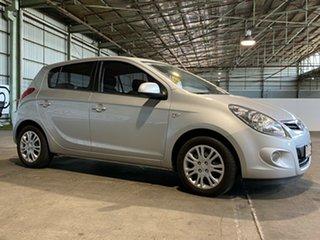2011 Hyundai i20 PB MY11 Active Silver 4 Speed Automatic Hatchback.