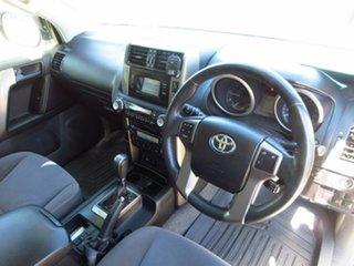 2012 Toyota Landcruiser Prado KDJ150R 11 Upgrade GXL (4x4) White 5 Speed Sequential Auto Wagon