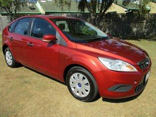 2009 Ford Focus LT CL Orange 5 Speed Manual Hatchback.