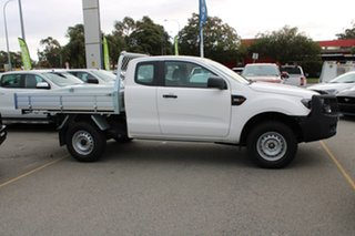 2020 Ford Ranger PX MkIII 2020.25MY XL White 6 Speed Sports Automatic Super Cab Chassis