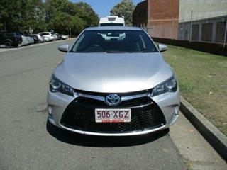 2015 Toyota Camry AVV50R Atara S Silver 1 Speed Constant Variable Sedan Hybrid.