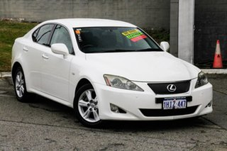2006 Lexus IS GSE20R IS250 Prestige White 6 Speed Sports Automatic Sedan.