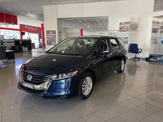 2010 Honda Odyssey 4th Gen MY10 Luxury Blue 5 Speed Sports Automatic Wagon.