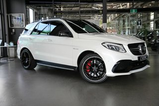 2015 Mercedes-Benz GLE-Class W166 GLE63 AMG SPEEDSHIFT PLUS 4MATIC S White 7 Speed.