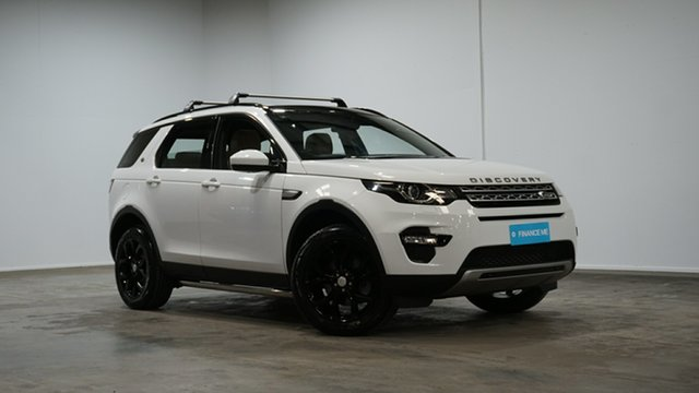 Used Land Rover Discovery Sport L550 16MY HSE Welshpool, 2015 Land Rover Discovery Sport L550 16MY HSE White 9 Speed Sports Automatic Wagon