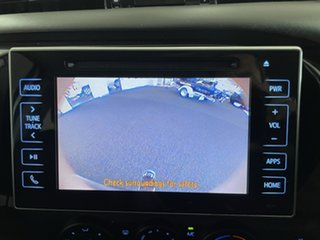 2018 Toyota Hilux GUN126R SR Extra Cab White 6 Speed Manual Cab Chassis