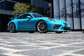 2018 Porsche 911 991 GT 3 Miami Blue 6 Speed Manual Coupe.